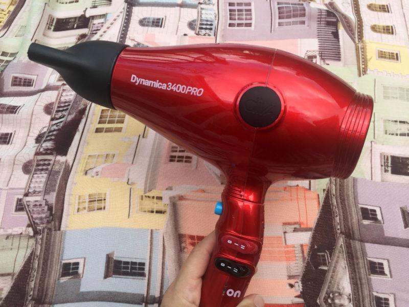 Cherry Red Diva Dynamica 3400 Pro Chromatix Hair Dryer