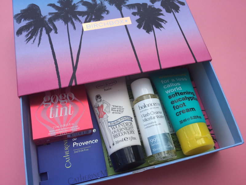 Inside the July 2017 Birchbox