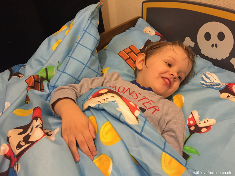 Oscar in Bed