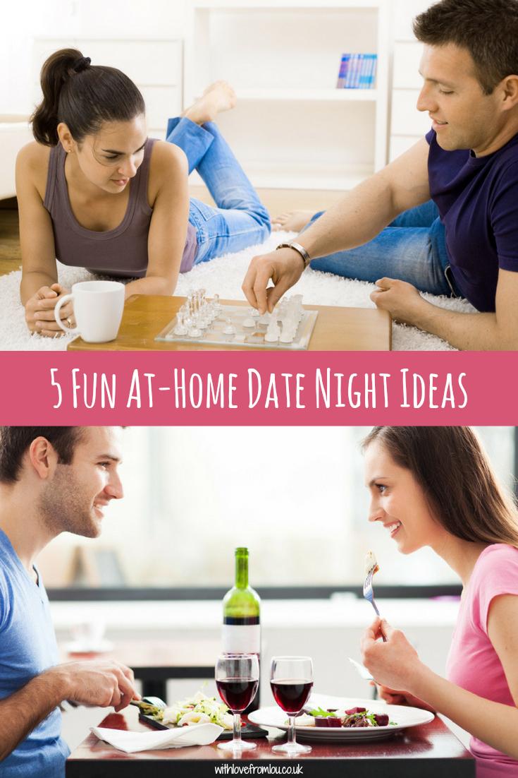 5 Fun At-Home Date Night Ideas