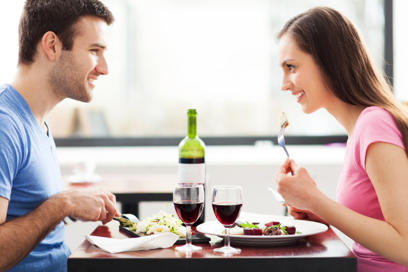 Image result for food loving couples eating sharing
