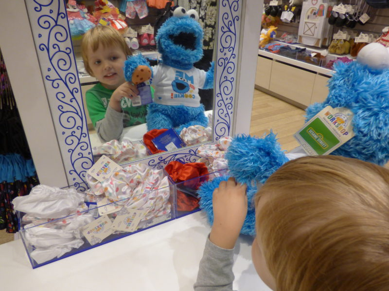 Dressing The Cookie Monster