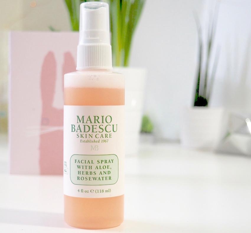 Facial refresh spray