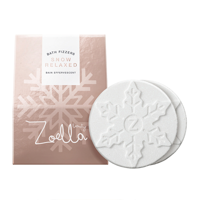 Zoella Snowflake Shaped Bath Fizzers