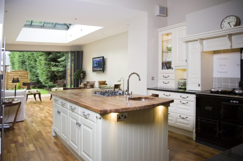 Bi-folding Kitchen Door