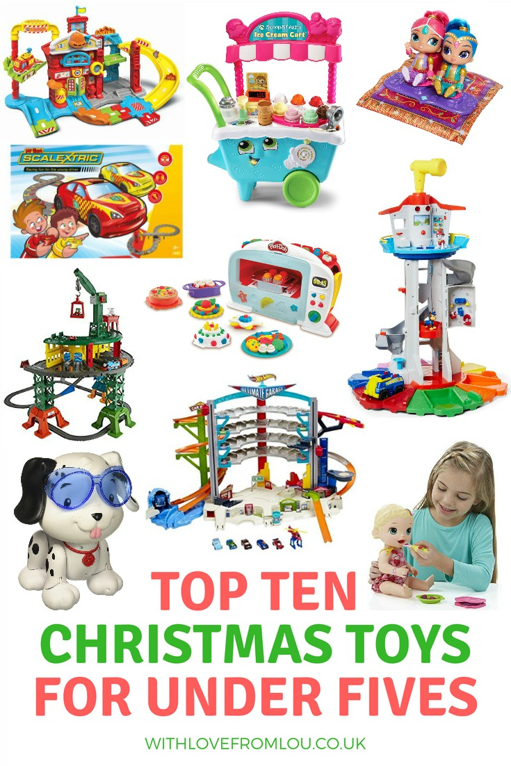 Top 10 Christmas Toys for Under 5's