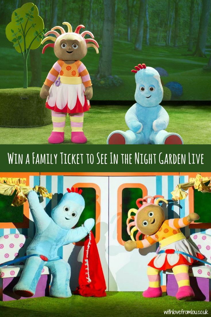WIN A Family Ticket to See In the Night Garden Live!