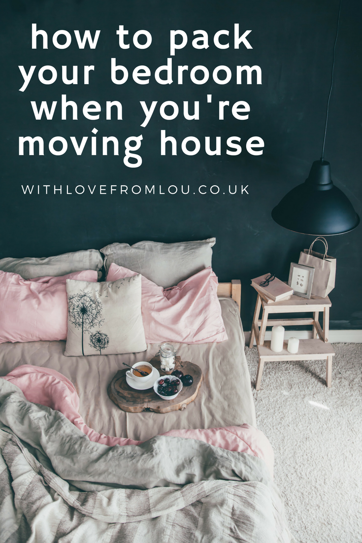 How To Pack Your Bedroom For Moving House