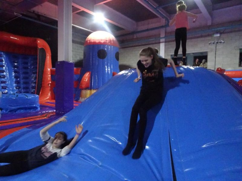 Stacey at Planet Bounce Nottingham