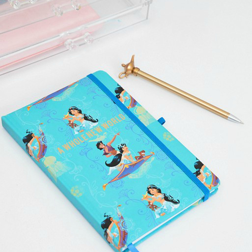 Aladdin Notebook and Pen Gift Set