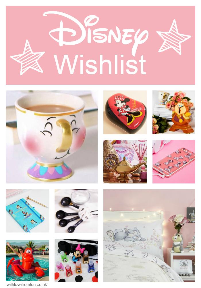 My Disney Wishlist