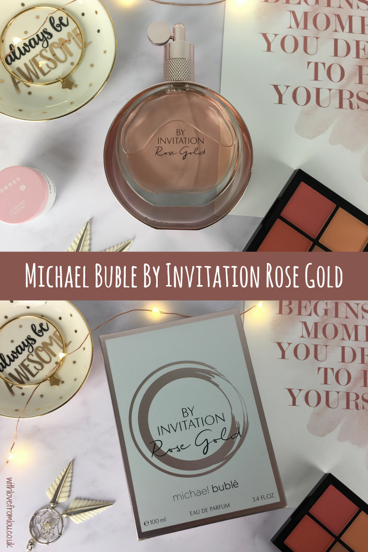 Fragrance Friday - Michael Bublé By Invitation Rose Gold EDP