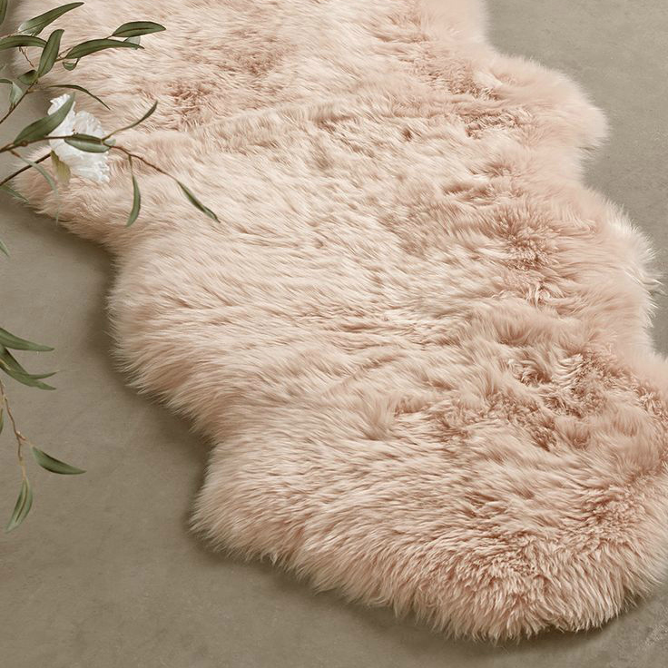 Sumptuous Double Sheepskin Rug