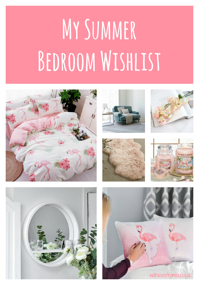 My Summer Bedroom Wishlist