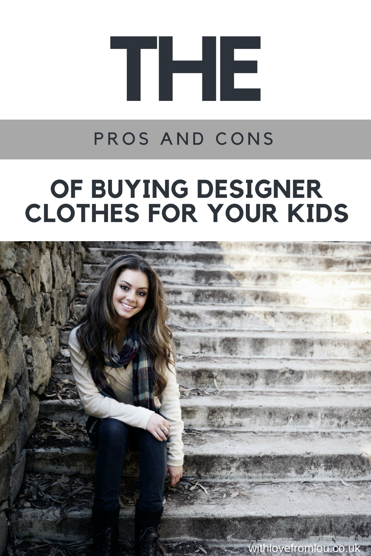 The Pros And Cons Of Buying Designer Clothes For Your Kids
