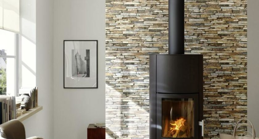Beautiful bricked chimney breast