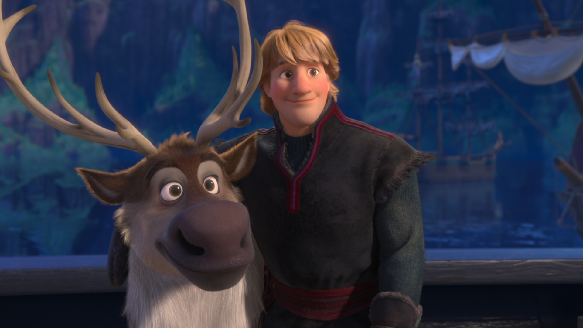 Sven and Kristoff from Frozen