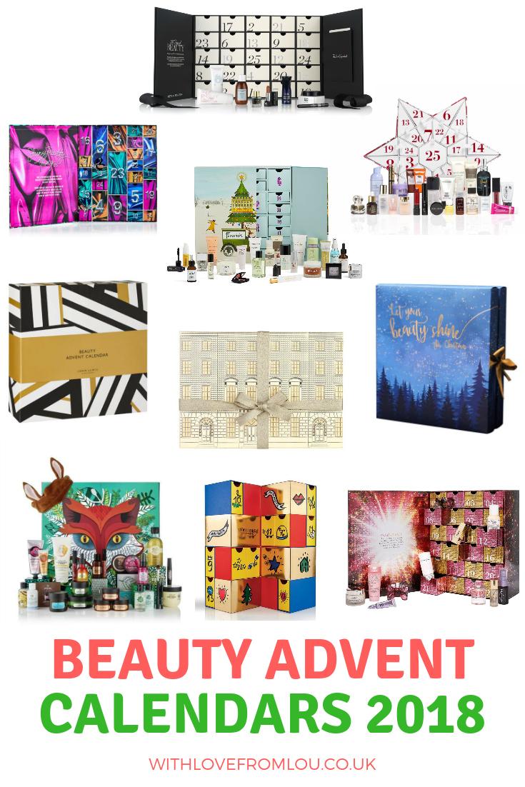 Top 10 Beauty Advent Calendar's 2018