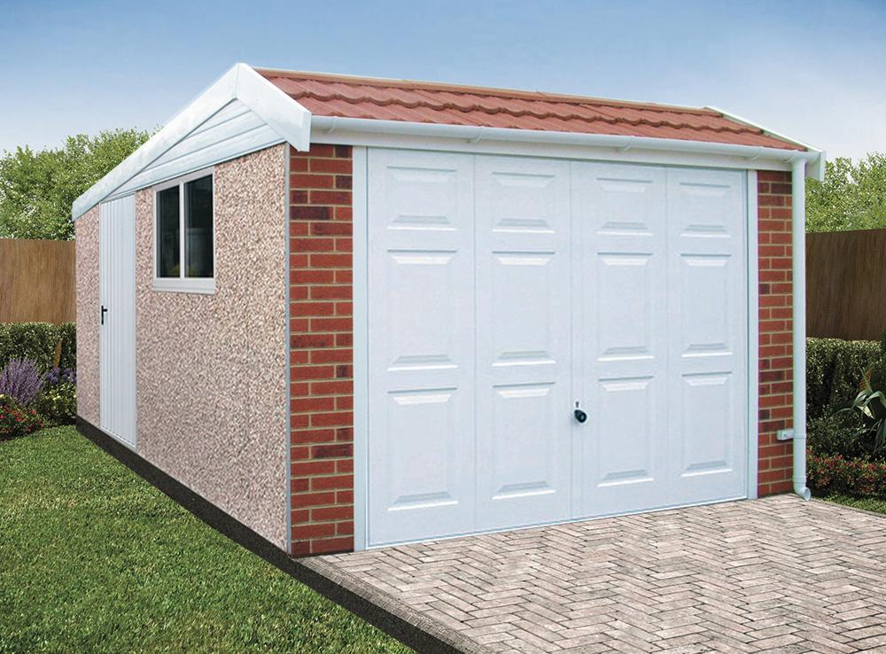 Concerete garage from Lidget