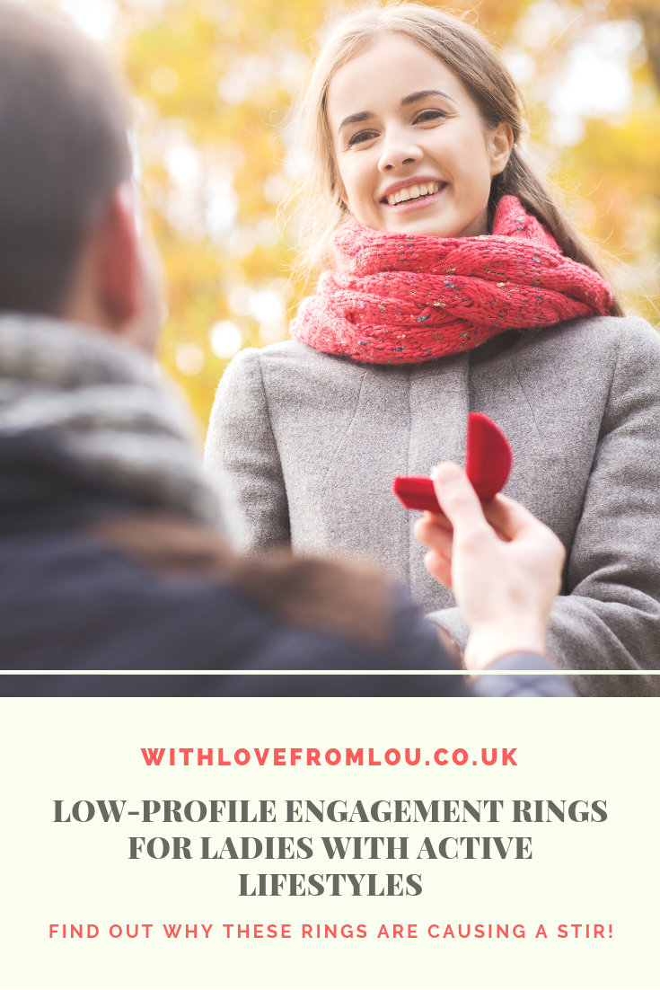 Low-Profile Engagement Rings for Ladies with Active Lifestyles