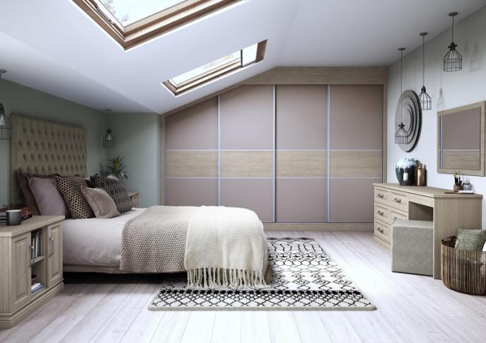 Bedroom With Sliding Wardrobe Doors