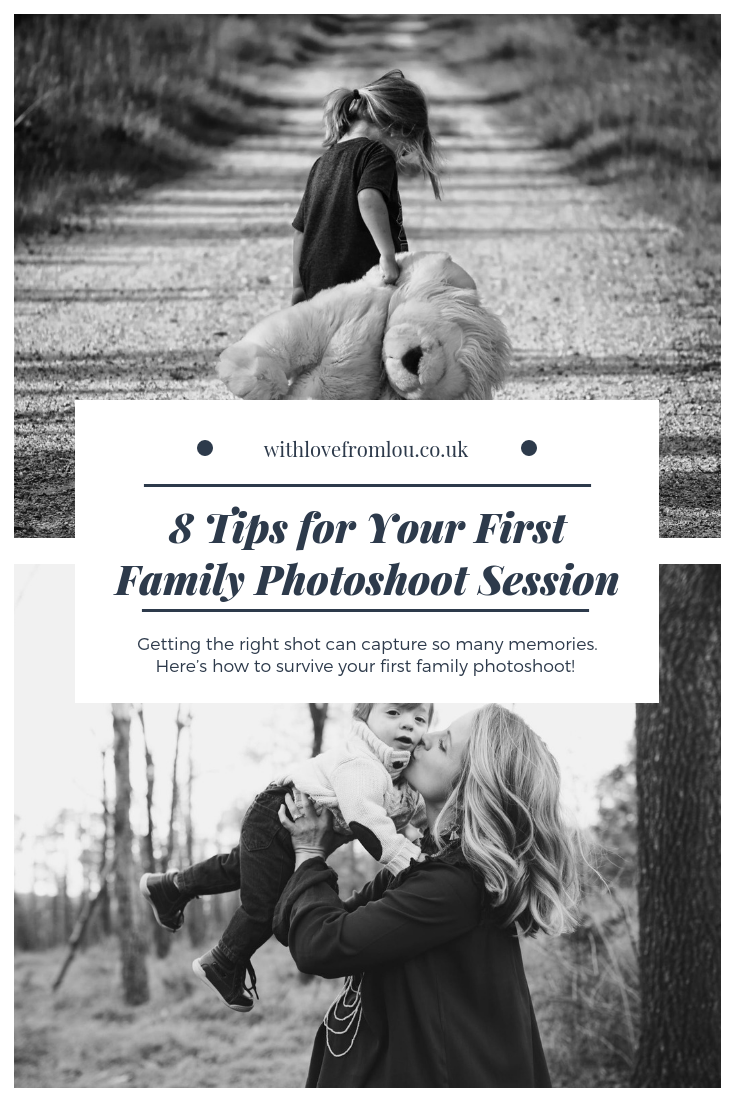 8 Tips For Your First Family Photoshoot Session