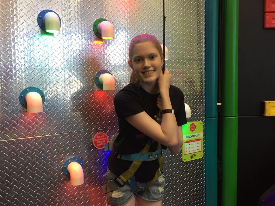 Stacey at Clip 'n Climb Nottingham